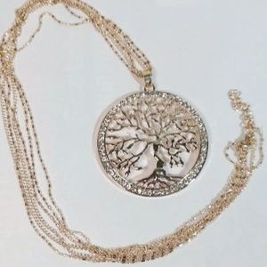 🆕 Rose Gold Tree of Life Necklace